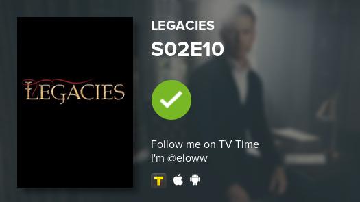 Je viens de regarder S02E10 of Legacies! #legacies #tvtime tvtime.com/r/1pjYi