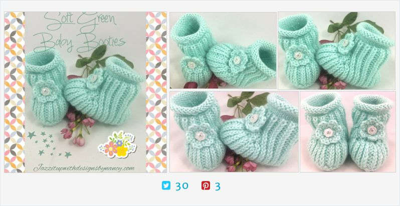 #BabyBooties 6-12 mo Soft #Green Flower #Rhinestone Button Caron Simply | @JazzitupwithDes  http://jazzitupwithdesigns.indiemade.com/product/baby-booties-6-12-mo-soft-green-flower-rhinestone-button-caron-simply… (Tweeted via http://PromotePictures.com)pic.twitter.com/U2wcs5bZGp