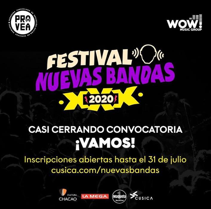 Festival Nuevas Bandas Nuevasbandas Twitter