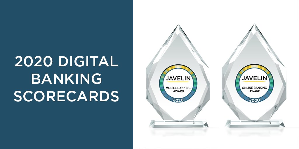 """Congratulations, @BankofAmerica for winning """"Best in Class"""" in both channels of @JavelinStrategy's 𝟐𝟎𝟐𝟎 𝐝𝐢𝐠𝐢𝐭𝐚𝐥 𝐛𝐚𝐧𝐤𝐢𝐧𝐠 𝐬𝐜𝐨𝐫𝐞𝐜𝐚𝐫𝐝𝐬! #DigitalBanking #MobileBanking #OnlineBanking #banking #awards #scorecards Read More: bit.ly/31z2HQu"""