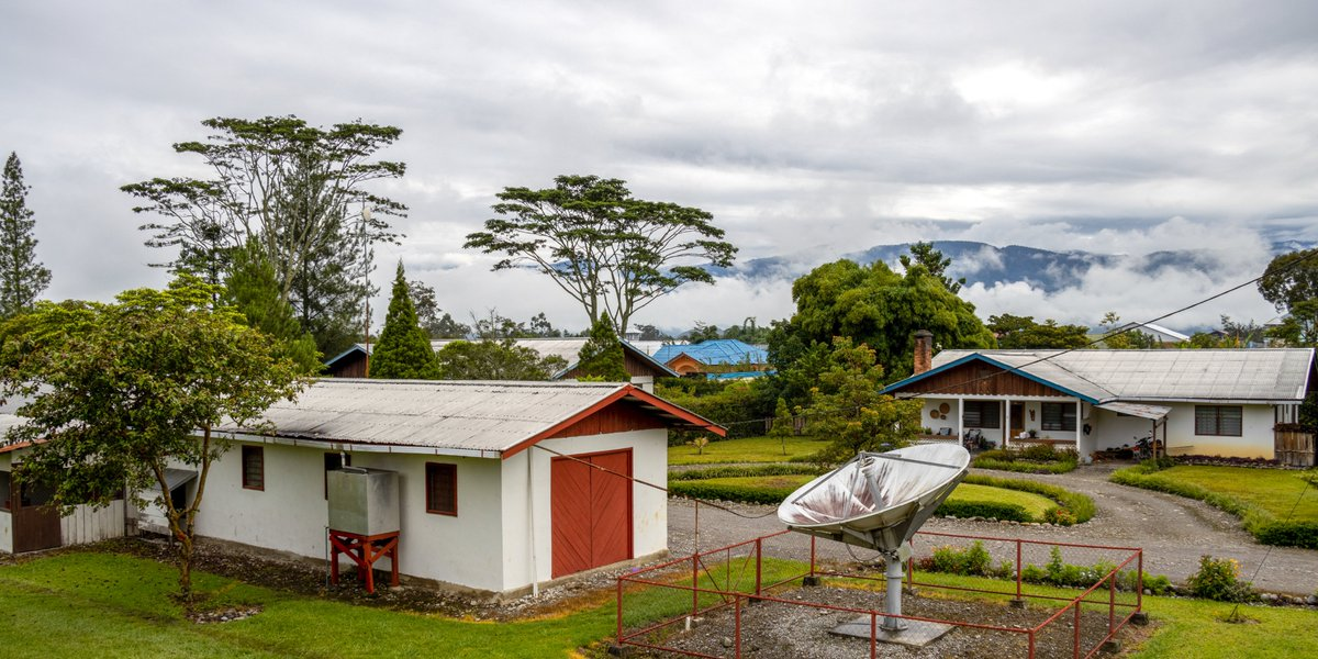 Take a look at what part of our base looks like in Wamena, Papua! #iflyMAF #75YearsofMAF