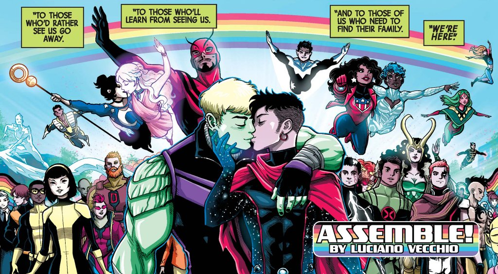 """test ツイッターメディア - 🏳️🌈 From his """"Ironheart"""" run to """"Marvel's Voices,"""" artist @LucianoVecchio shares his earliest fandom, a look into his comics career, and Pride: https://t.co/v4IJdn1VVj https://t.co/7571Ffi9r0"""
