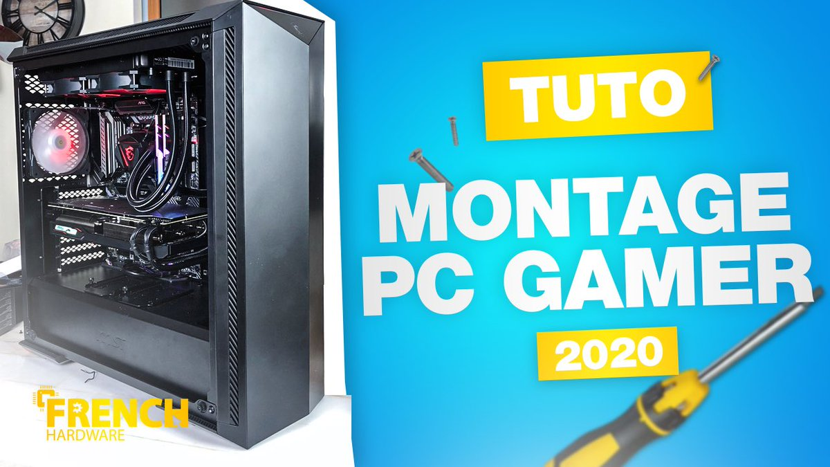 COMMENT MONTER SON PC GAMER EN 2020 ! https://t.co/3vvaO7PXsS @msifrance @AMD_France @bequietofficial @gskillgaming @iFixitFR https://t.co/TTJUmrZXZx