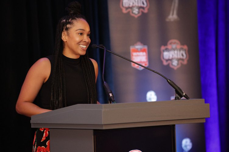 6.28.2020  Honored to MC the @WashMystics 2019 WNBA Championship Ring Ceremony   Thank you to the players & coaching staff for one of the most memorable basketball seasons in my career. https://t.co/mxBJOptZD3