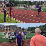 Thanks to our TV friends at @myfox8 & @SpecNews1Triad for coming out to cover today's simulation training event with HPU's Departments of Athletic Training, Physician Assistant Studies & @GuilfordEMS! 🚑