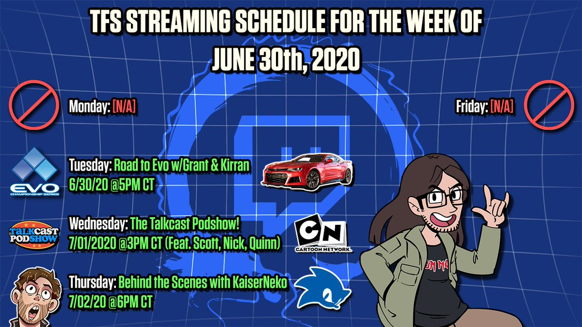 Streaming schedule for June 30th, 2020!<br>http://pic.twitter.com/plfmWQb7UV
