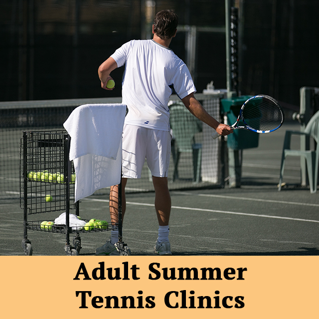 Adult Tennis Clinics are back at the Club! Register today for one of our Summer Clinics at https://t.co/TYs1pHUEcg #TCSCC https://t.co/ZIdbV4DBeI
