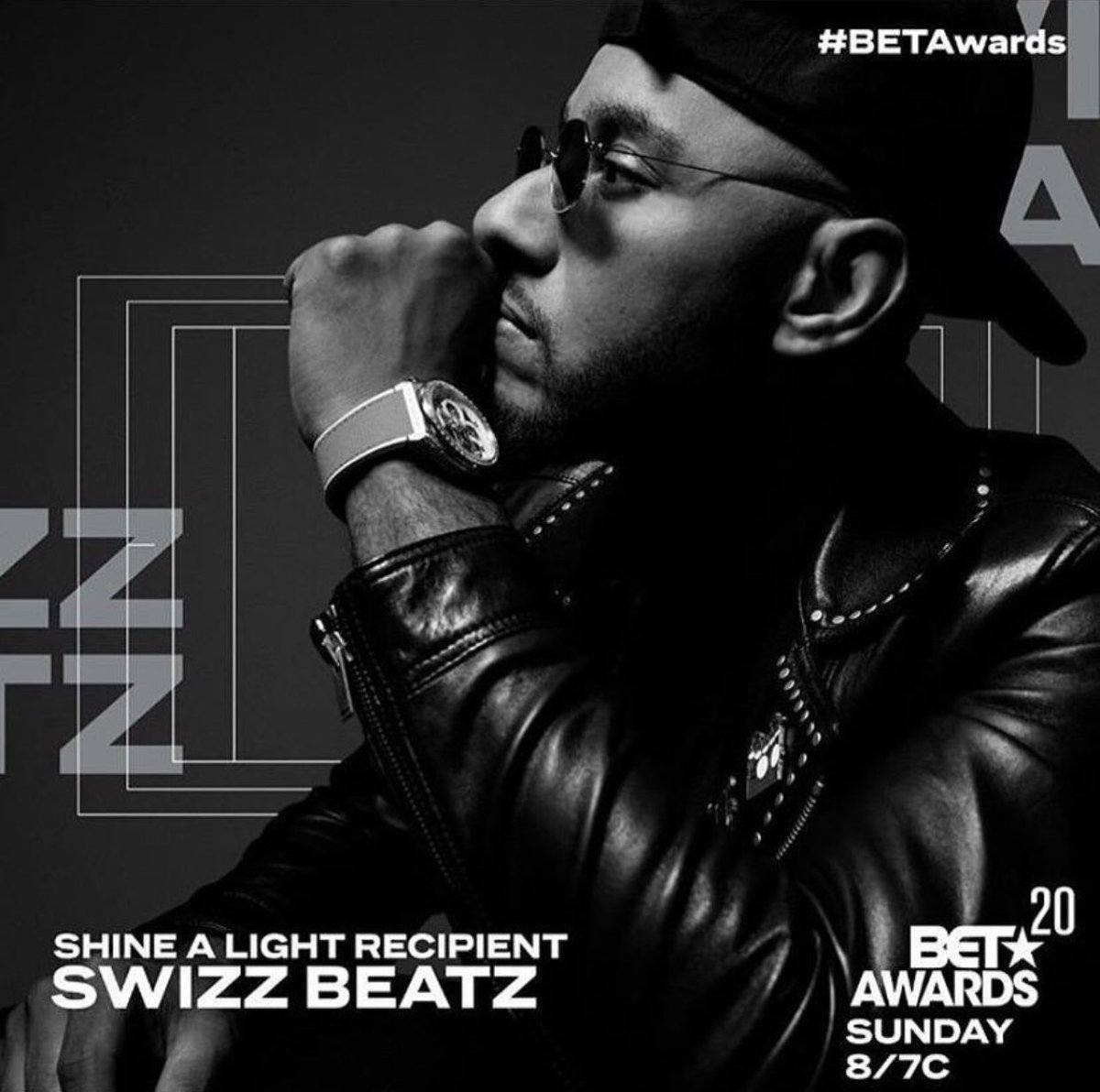 Congratulations to @THEREALSWIZZZ on being this year's @BETAwards Shine A Light Recipient. ✨