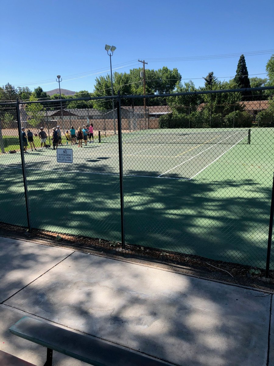 Carson City Nevada On Twitter The Tennis Courts At Mills Park