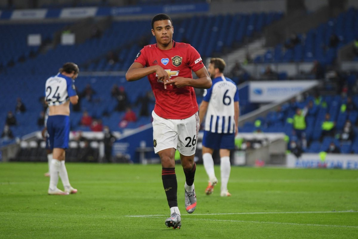 Mason Greenwood when starting at RW this season (all competitions): • 9 appearances • 8 goals • 3 assists Unbelievable. 🙌🙌🙌