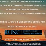 "Image for the Tweet beginning: ""Space for Dialogue for Black"