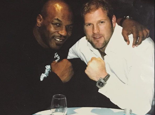 Happy Birthday from WBC Cares UK - Enjoy this throwback of Mike Tyson and our chairman Scott Welch