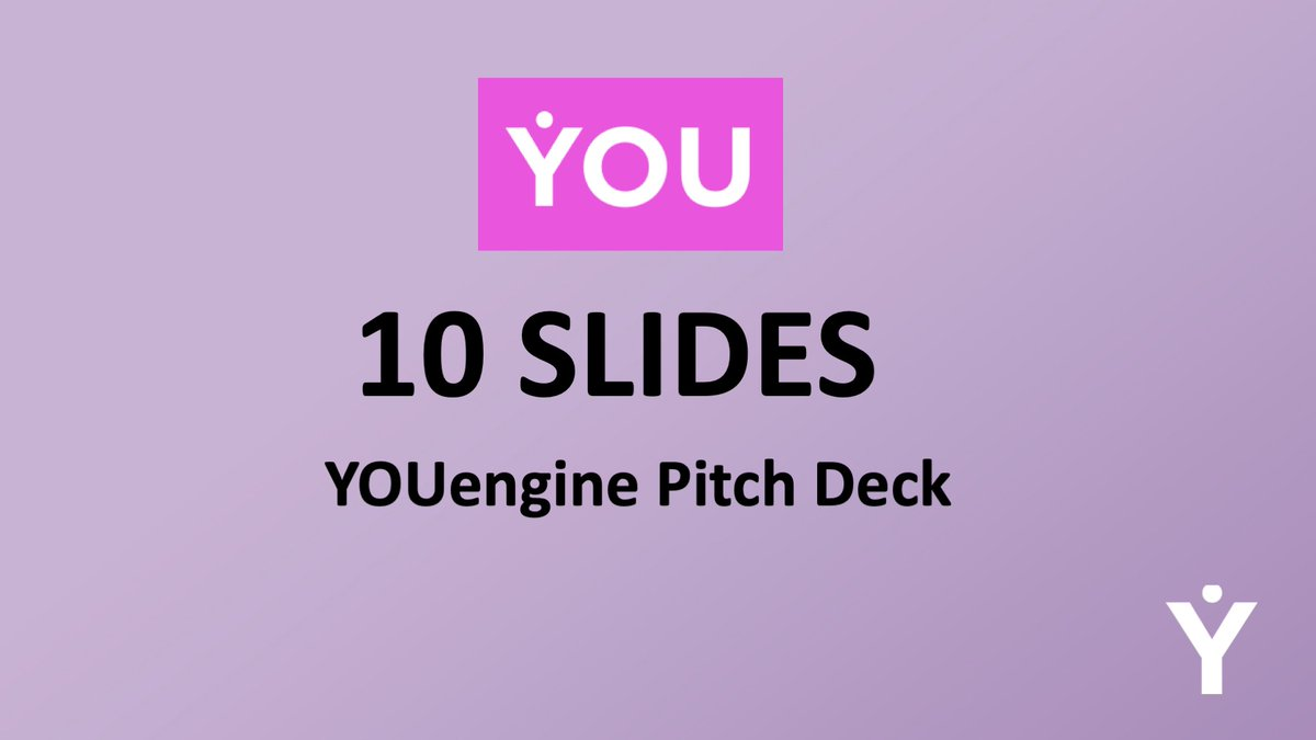 Learn about YOUengine's product, market, and team just in 10 slides 🌠 👉 https://t.co/UmaoHJkt12  @younive87630435 $YOUC #youcash #blockchain #decentralization #youapp #pitchdeck https://t.co/1FuDbiNwWk