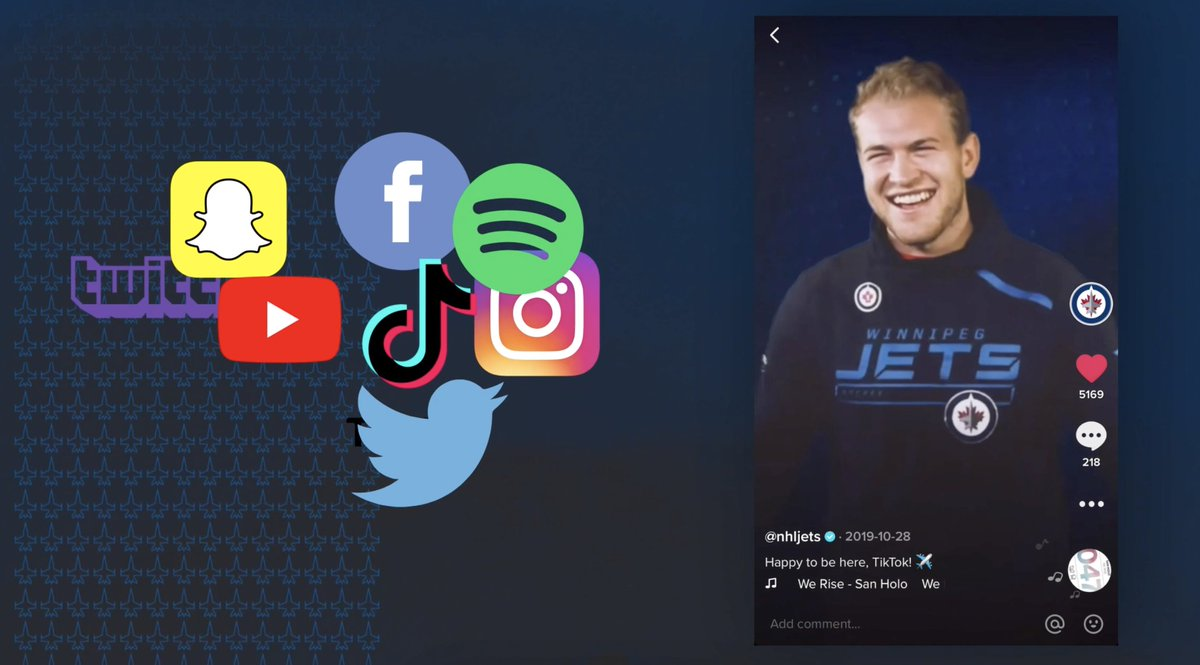Its #SocialMediaDay! 🎉 So, from the @NHLJets social media team... we want to thank YOU, our followers, for being a part of our journey this season (and beyond)!