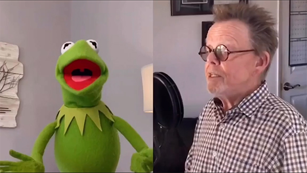 """Kermit the Frog, @IMPaulWilliams and over a dozen celebrities united for a star-studded rendition of """"Rainbow Connection"""" to help raise funds for @MusiCares!   https://t.co/vrNShBtzO3 https://t.co/qUxnQqmBfx"""