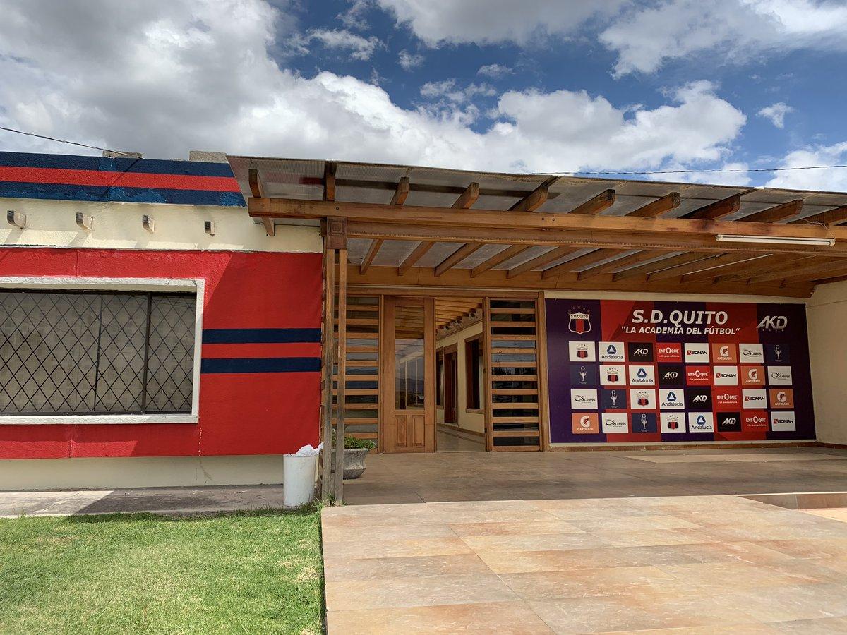 Sólo faltan nuestros jugadores ‼️ La Ciudad Deportiva Ney Mancheno Velasco 🏠 está a punto para cuando llegue la hora de volver 🏃🏾♂️ 📱https://t.co/HpzTy53D8p 🔵 #SDQuitoProtegido 🔴 https://t.co/qUssokAb4k