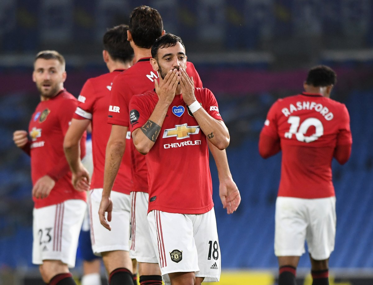 Manchester United are now unbeaten in 15 games, keeping 11 clean sheets and scoring 38 goals https://t.co/iuoPfnek2k