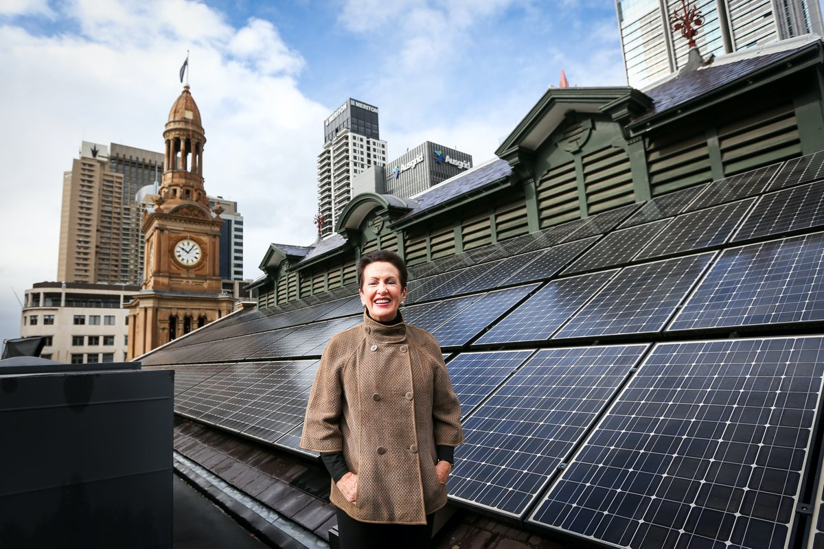 As of today, the City of Sydney is powered by 100% renewable electricity. https://t.co/3qJaQduBac