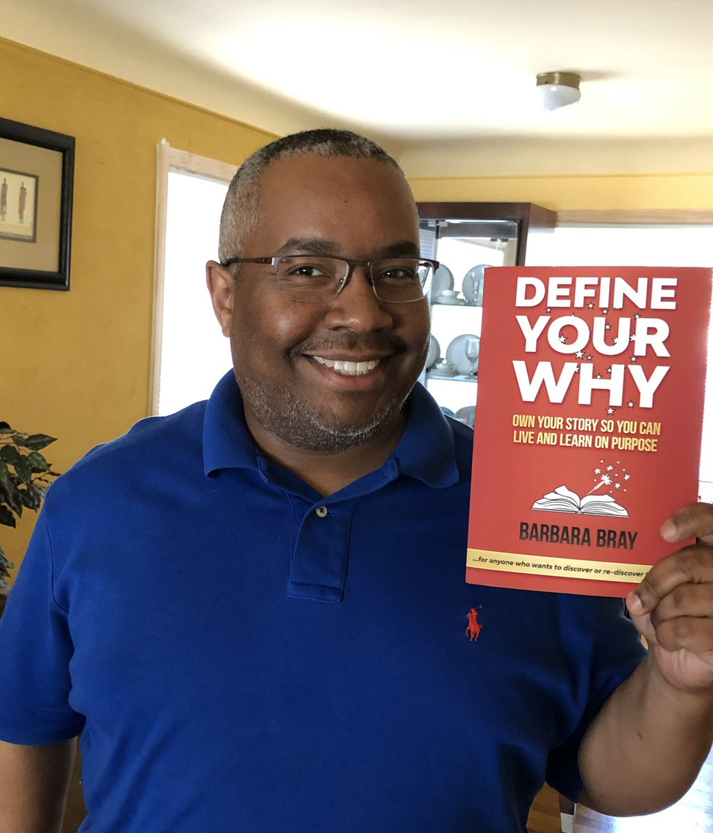 Guess what I'll be reading this week?Super excited! @bbray27 #rethink_learning #edchat