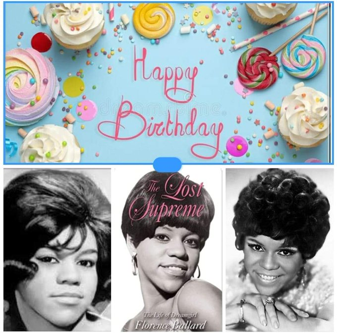 Happy Heavenly Birthday to MISS FLORENCE BALLARD..... Founder of the legendary Supremes.