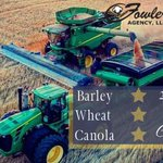 Image for the Tweet beginning: 🌾🌾 2020 Barley, Canola, and Wheat