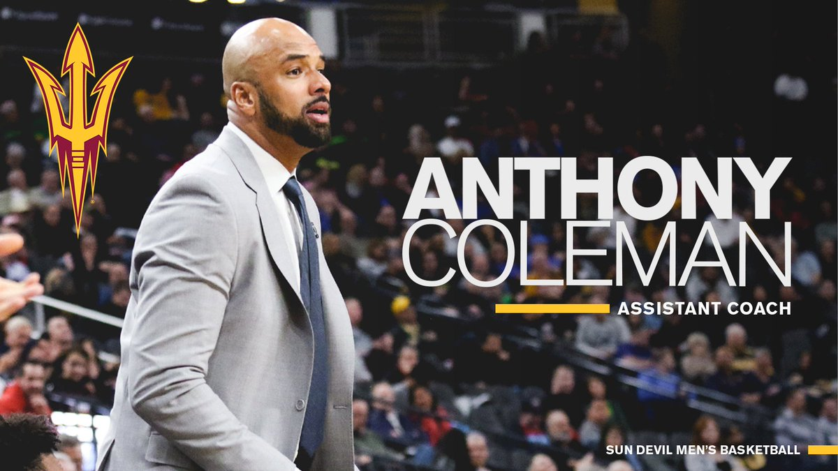 Thrilled to welcome back Assistant Coach Anthony Coleman! 🔱 📰 » bit.ly/2NIqQvR