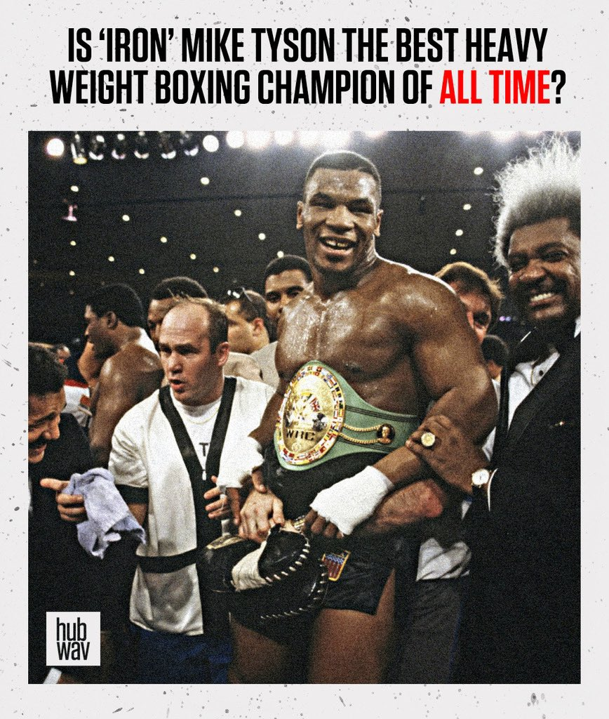 Happy birthday to the champ! Is Iron Mike Tyson the GOAT of heavy-weight boxing?