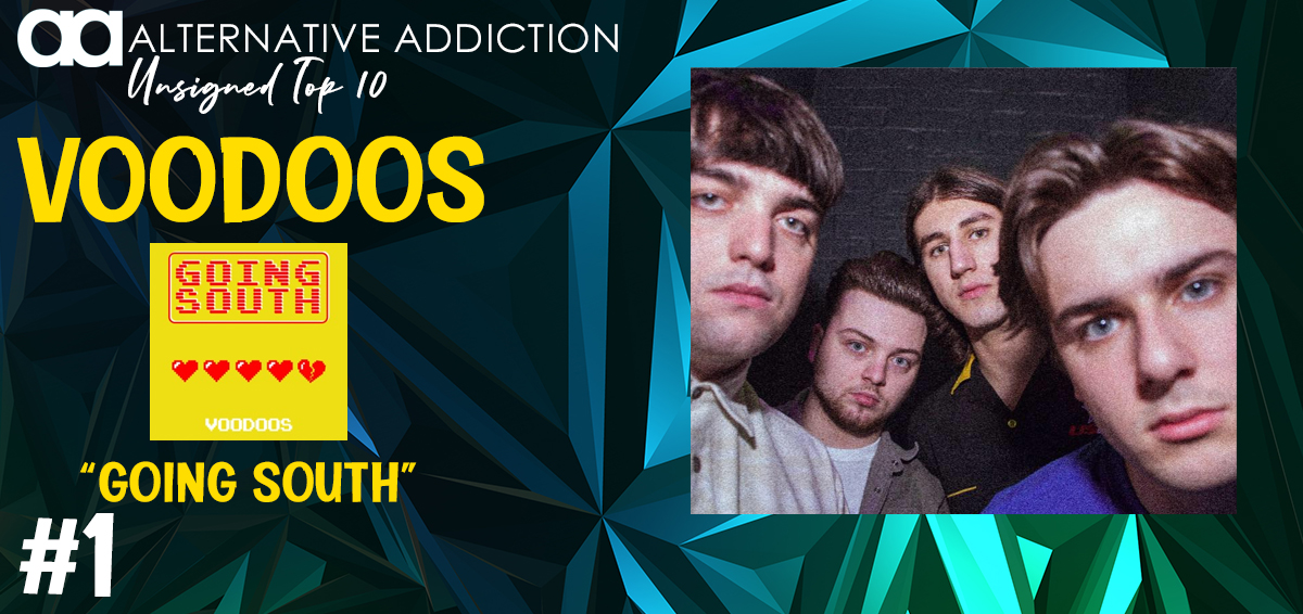 And No. 1 on the Unsigned Top 10 goes to @voodo0s w/ Going South alternativeaddiction.com/unsigned
