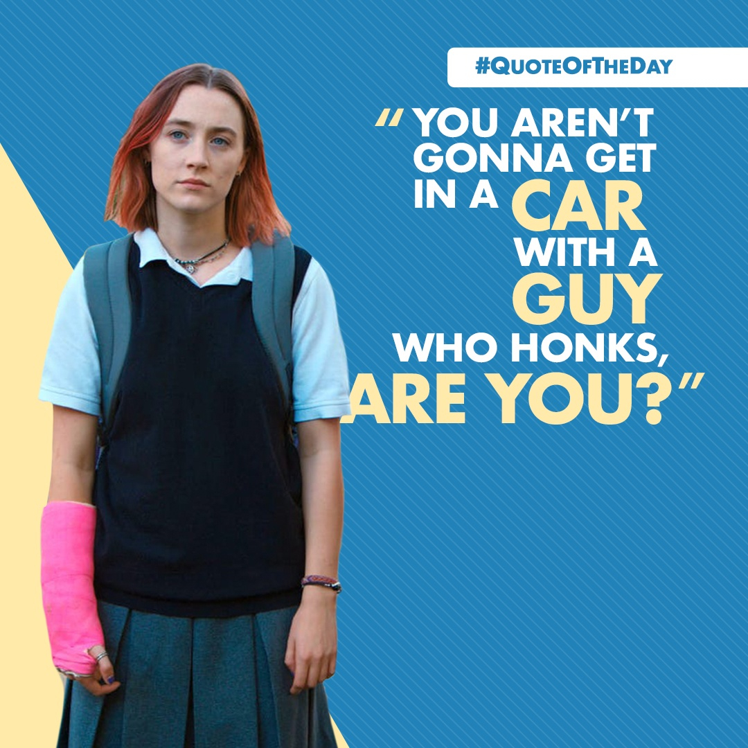 Today's #QuoteOfTheDay comes from Lady Bird ❤️ https://t.co/gyCxwU3vij