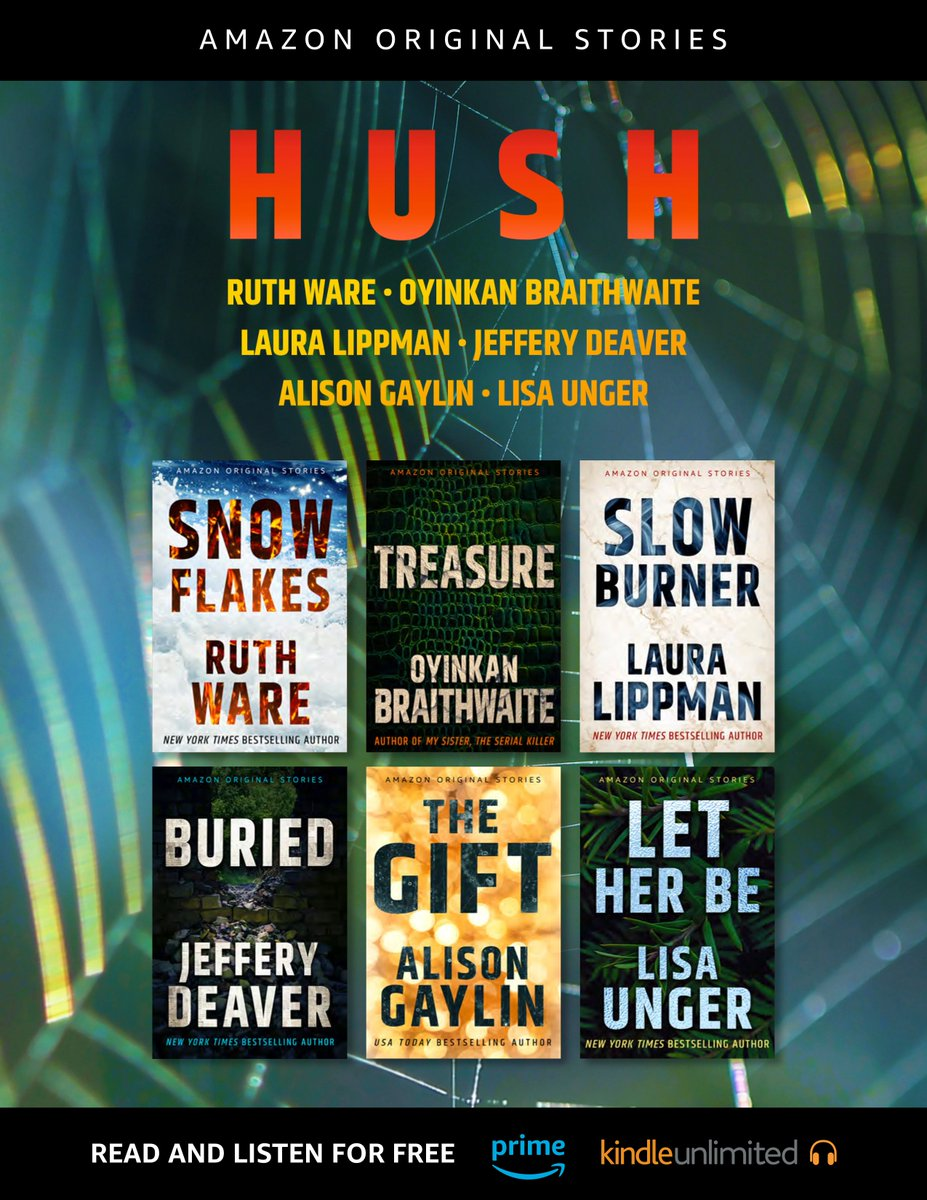 Thrilled to be included in HUSH, an exciting collection of short stories about the fluid nature of truth, along with some of my favorite writers: @RuthWareWriter @LauraMLippman @alisongaylin @JefferyDeaver @OyinBraithwaite Pre-order here: https://t.co/ua1FSkvguX https://t.co/5l369zBae5