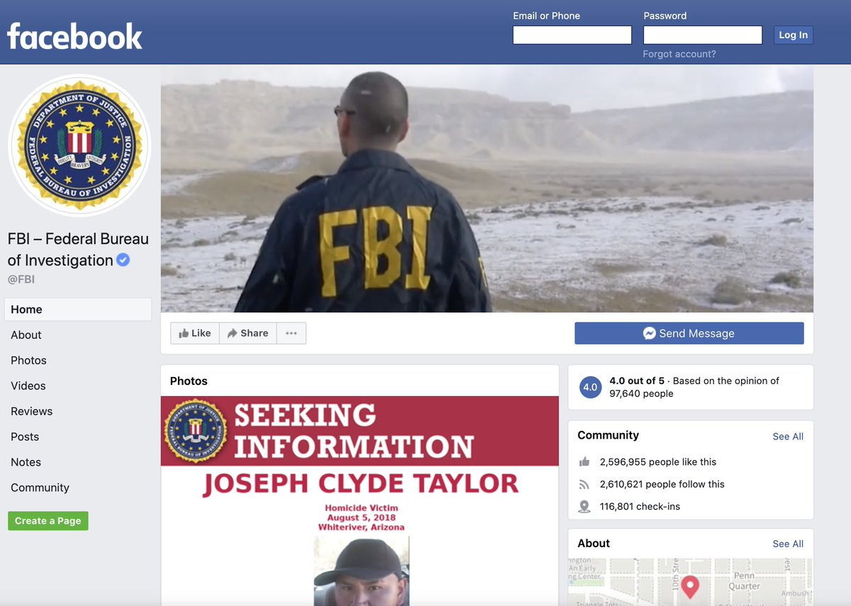 On #SocialMediaDay, #DYK that the FBI has a Facebook page and an Instagram account? You can learn more about our mission on Facebook at https://t.co/zOFRV4VGoW and check out some behind-the-scene photos on Instagram at https://t.co/j4g0M3q94H. https://t.co/uLDAzJGoPv