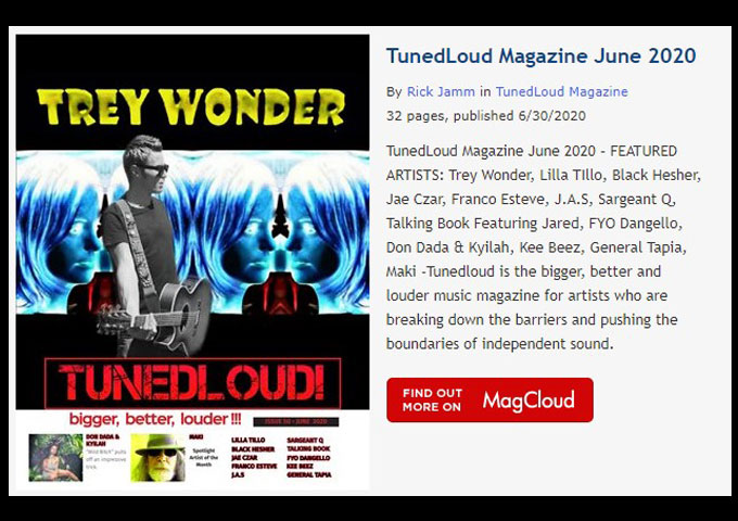 TunedLoud Magazine June 2020 https://t.co/mifVaRLeEp https://t.co/lm5Iey53eW