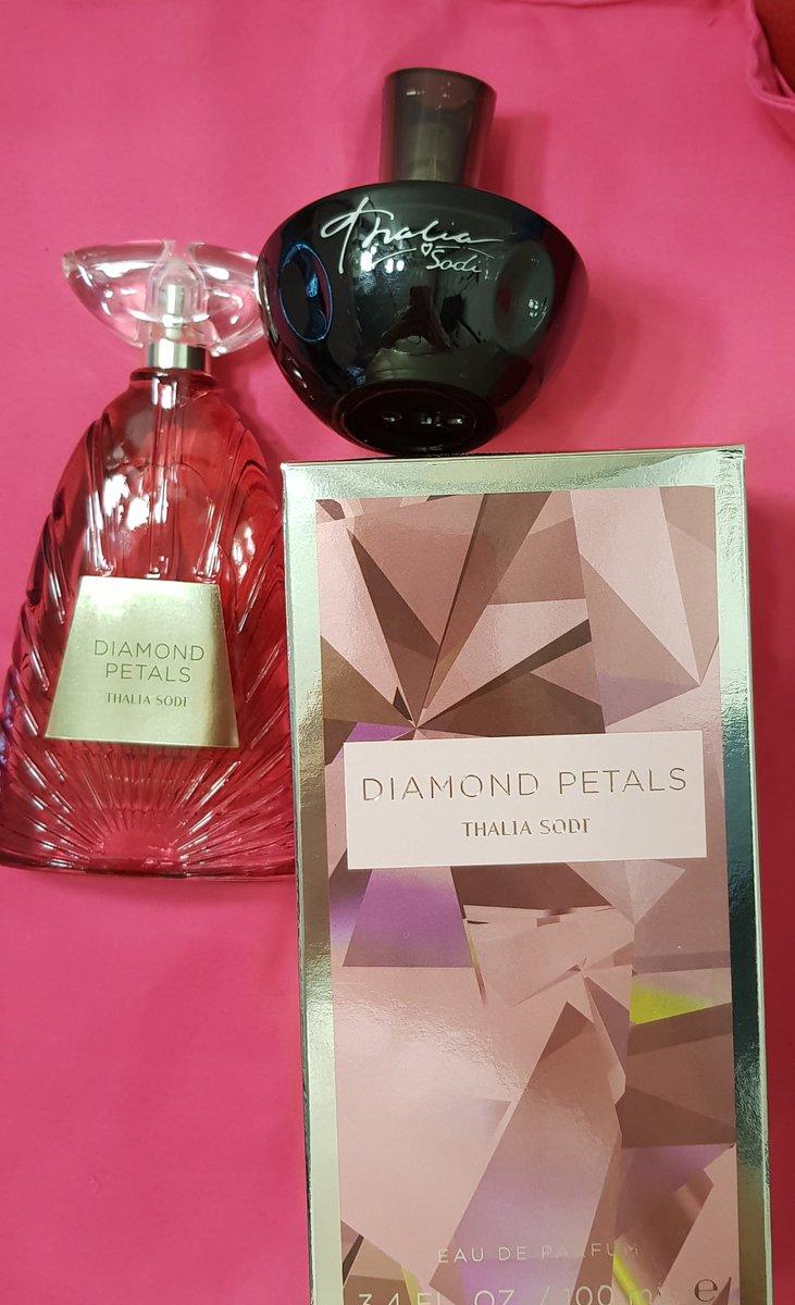@thalia al fin voy a tener tu aroma en mi almohada ! Al fin en mis manos!!! #diamondpetals #thaliasodifragrancecollection #thaliasodicollection #thalia #mdcthalia #thaliathelegend #estoysoltera #thaliachallenge #vivakids2 #losiento #timida #yatúmeconoces #diadelasredessociales