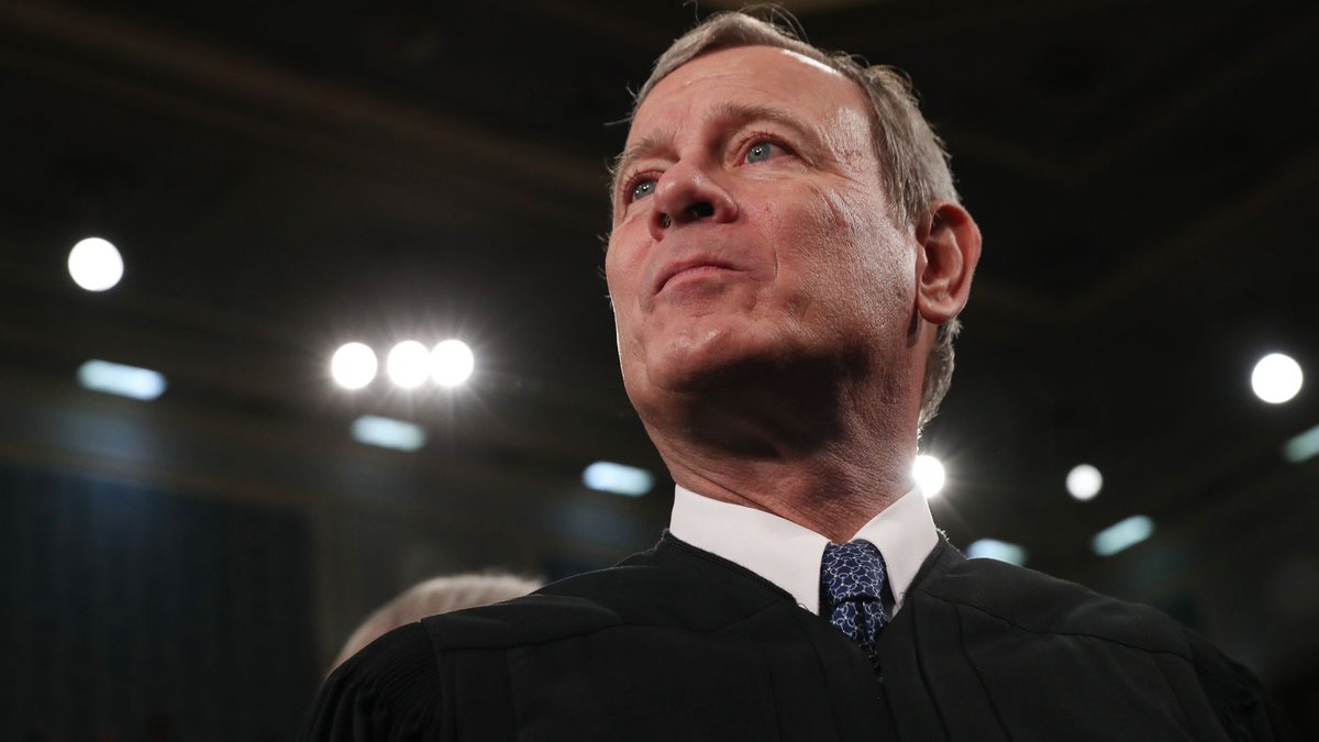 Chief Justice Roberts shows principle by voting with precedent rather than personal preferences to protect reproductive freedom. Might he also be signaling that he wont compromise principle to endorse a possible Trump effort to evade an electoral loss? trib.al/CKeiomT