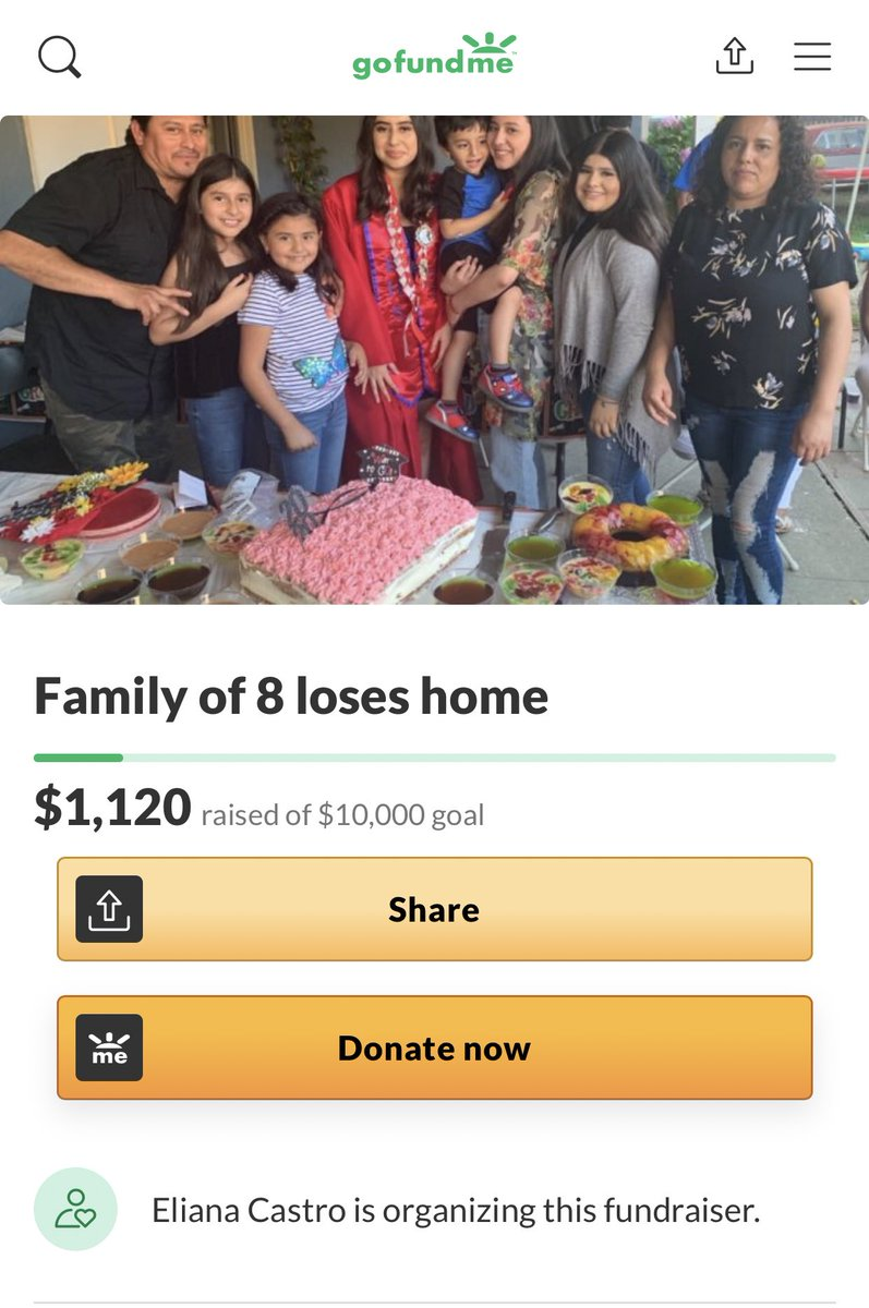 A single retweet would mean a lot , help this family out please!! 💛💛  link will be in my bio https://t.co/1Nk1Jhw22H