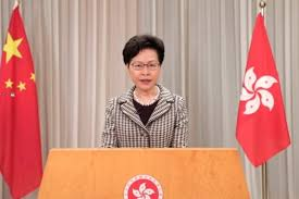 Hong Kongs Carrie Lam says Beijings national security law fills a gaping hole. Shes right: Hong Kong is the only place where Chinese people can express their real views about being ruled by the Communist Party. Now that censorship hole is closed. trib.al/PPhv3J9