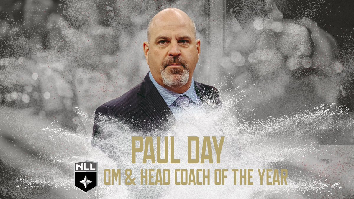 🏆🏆Congratulations to @CoachPaulDay for winning both the GM of the year & coach of the year awards! #WeFlyTogether https://t.co/fRw4uY7fzJ
