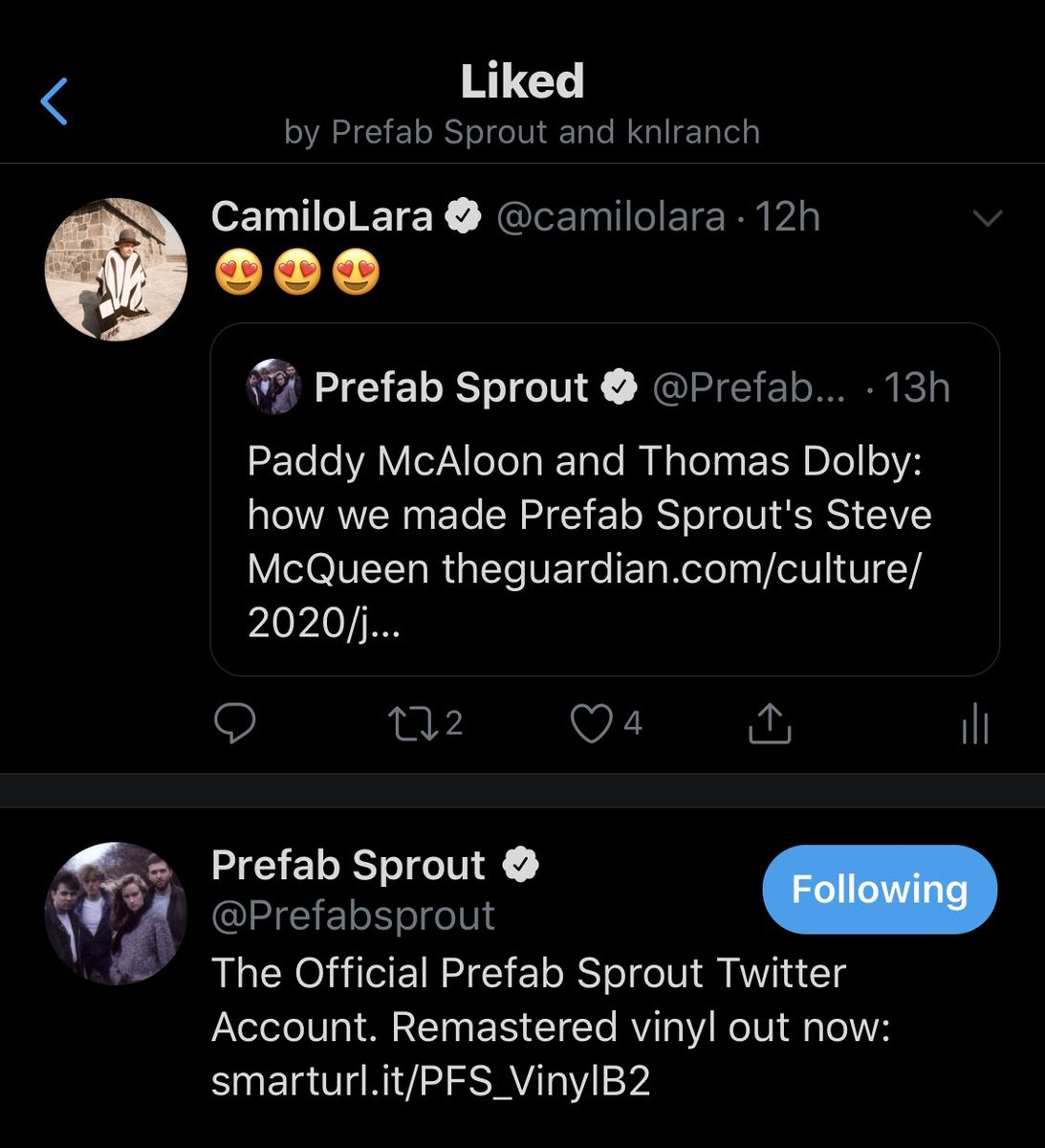 Now I can die in peace @Prefabsprout https://t.co/1sKugy1L8f