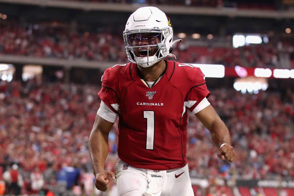 Most completions of 50+ yards in 2019:  ▫️ Kirk Cousins - 6 ▫️ Kyler Murray - 6 https://t.co/EotZYBCMCc