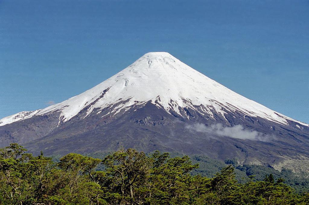 富士山 オソルノ 山