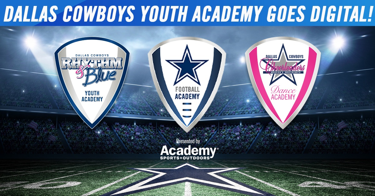#CowboysNation 🗣 our Youth Academy has gone digital! Learn football drills & dance routines from your home this summer with instructional videos → https://t.co/V92DYDgKD1 https://t.co/goLJRXTyq2