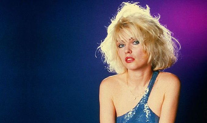 A very happy birthday to Deborah Harry, born on July 1, 1945