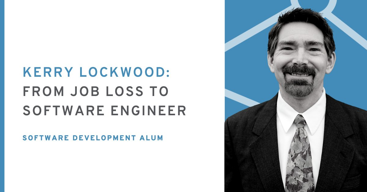 Last December, Kerry Lockwood found himself without a job after years as an RPG programmer. Find out how Eleven Fifty helped him skill-up and land a new role--even during the pandemic! https://elevenfifty.org/from-job-loss-to-software-engineer/… #coding #softwareengineer #indy #indytechpic.twitter.com/HqWM3zCRZI