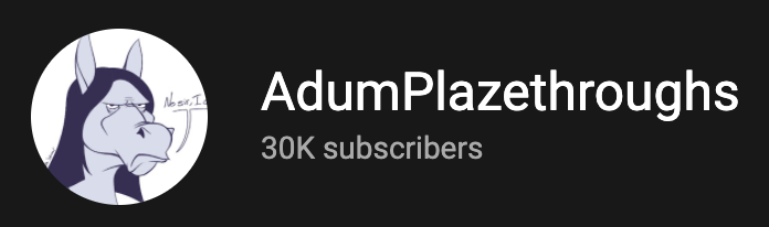 Happy 30K to the plazethrough channel! https://t.co/AR1Ge8XNKQ https://t.co/DvTwZWo0gT