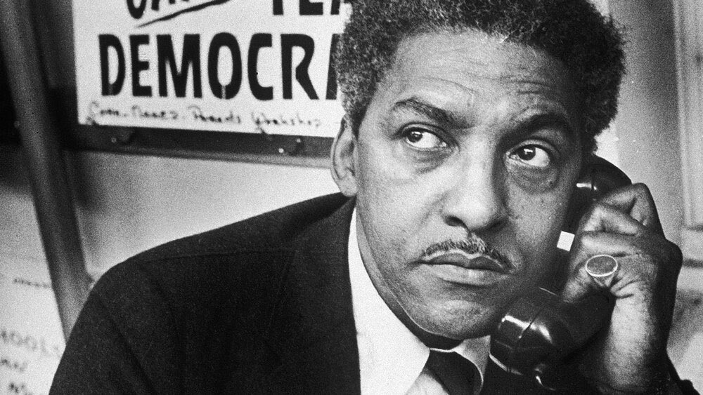 We think of LGBTQ architects of freedom, from #BayardRustin, who helped organize the 1968 March on Washington to #JamesBaldwin, who captured our struggles & hopes, and countless others who push us to new heights. We're grateful for their vision + leadership.  Happy #Pride! 🌈 (2) https://t.co/gmZdHBJTJU
