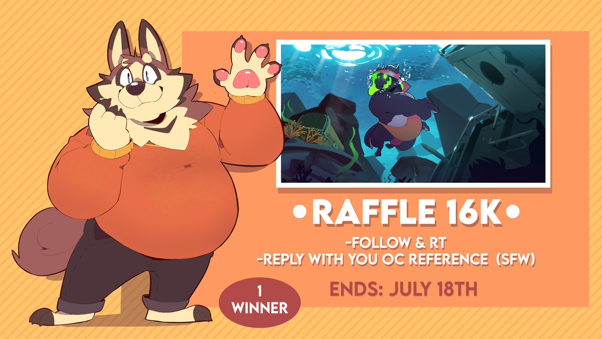 RAFFLE FOR ALMOST 16K!! Thank for all the support that i was recieving💖 I really really appreciate it!! And ill keep doing my best for be better and better in what i love💕✨💖💕 thank for everything!!!!💖💕💖 The prize will be a full illustration <3