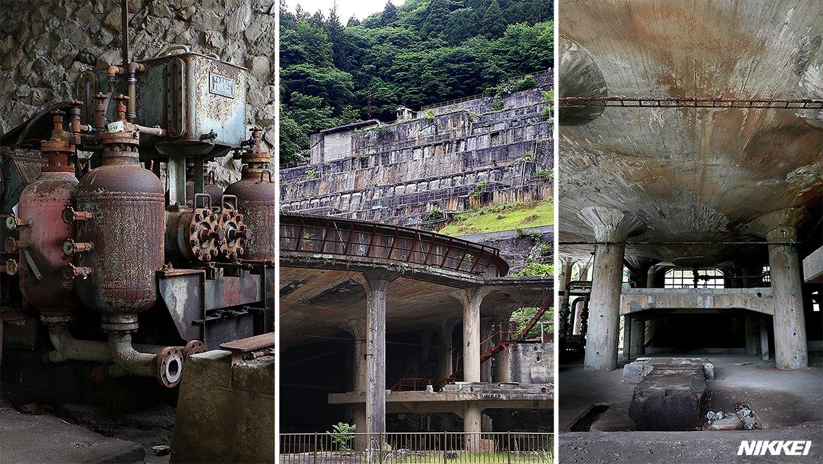 兵庫県朝来市の山あいにある神子畑(みこばた)選鉱場跡は、かつて隣町の鉱山で採れた鉱石を選別した施設の廃虚です。手つかずのため、寂れた趣が際立ちます。#関西タイムライン 記事はこちら https://t.co/OBMKGgzFFN 「NIKKEI関西」インスタグラムでも https://t.co/CqeLLDiPDJ https://t.co/T4EcDQt2vN