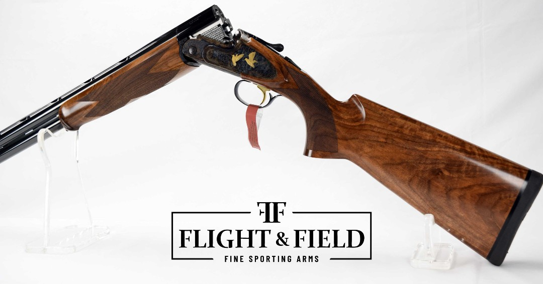 "New Arrival - Caesar Guerini Magnus Sporting Limited Edition 12ga 32"" bbls.  Contact us for more details.  #FlightAndField #GueriniUSA  #sportingclays #clayshooting #claypigeonshooting #shotguns #skeetshooting #CaesarGuerini pic.twitter.com/Vc4WbMbW3X"