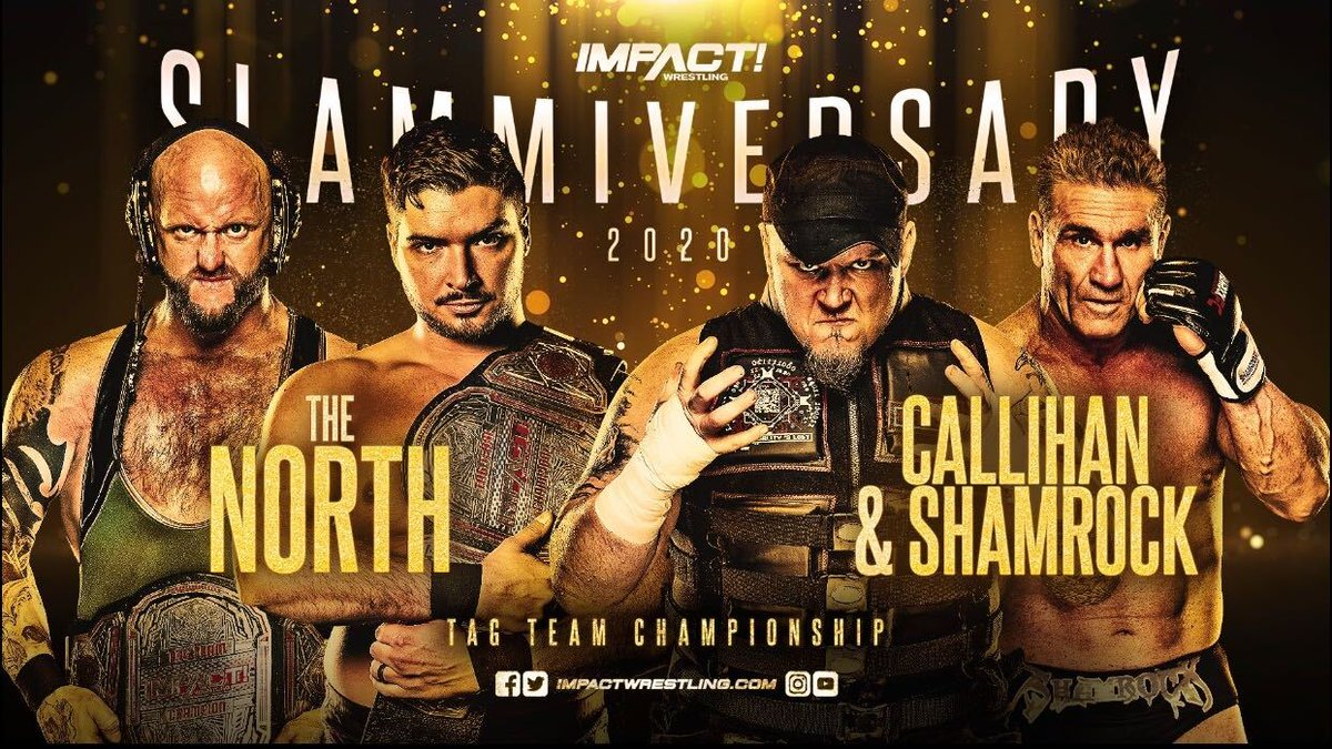 Two More Matches Are Announced For Impact's 'Slammiversary' Pay-Per-View Event