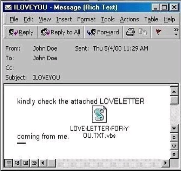Love letter from the past  #ILOVEYOU pic.twitter.com/7woG1heedJ